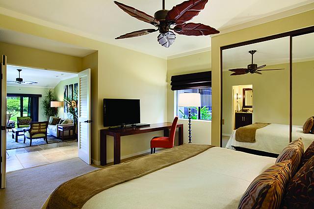 フェアーウェイ ベッドルーム|カパルアリゾート!マウイの高級コンドミニアム 画像