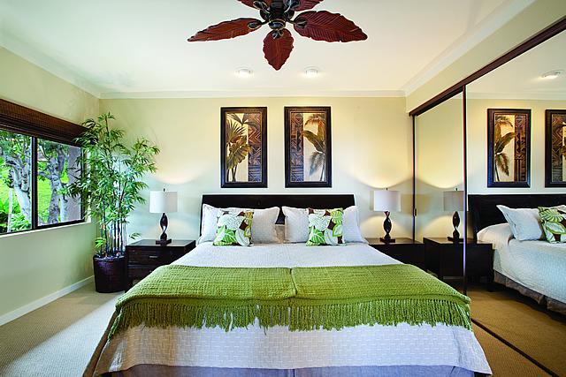 ゴールドパーシャルオーシャンビュー ベッドルーム|カパルアリゾート!マウイの高級コンドミニアム 画像